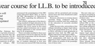 Distance Learning LLB In Pakistan