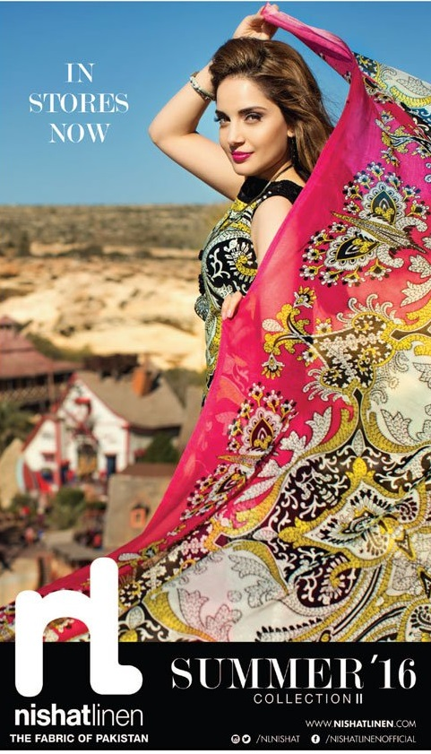 Nishat Linen Summer Collection II 2016-1