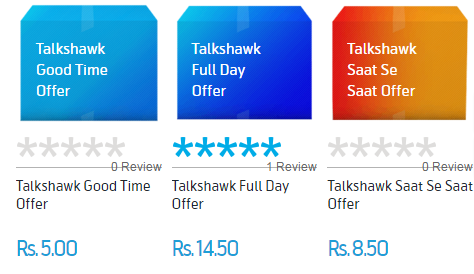Telenor Talkshawk Call offers Packages Rates For Any Network