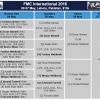 FMC International Men's PSA Squash Championship Lahore 06 May Semis 07 May Final 2016