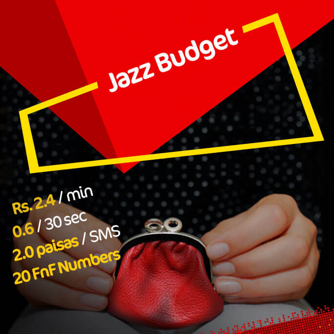 Jazz Budget Package Activation Code.4 Minute Call
