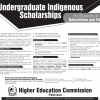 HEC Undergraduate Indigenous Scholarships For Balochistan And FATA Student
