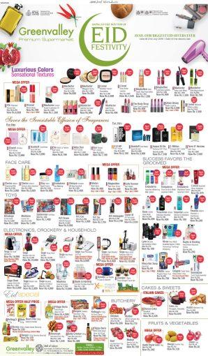 Lahore Eid Cosmetics Sale At GreenValley Premium Supermarket For Women