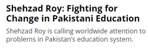 Shehzad Roy Is Fighting For Problems