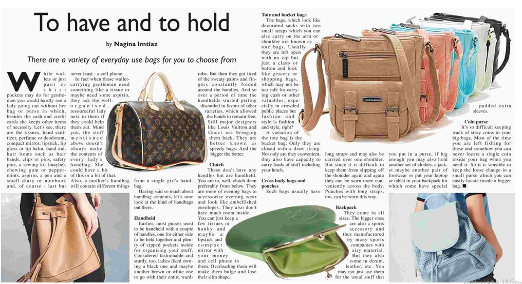 Everyday Use Bags Collection For Ladies Handbags
