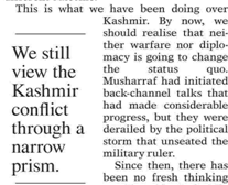 Kashmir Issue Lots Of Hype And Low Expectations
