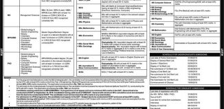 Kohat University of Science & Technology Kohat Admission NTS Test