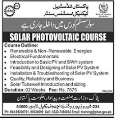 Solar Photovoltaic Course In Lahore Solar System