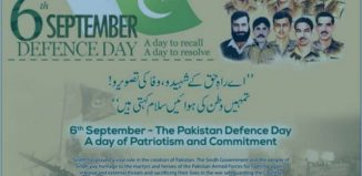 6th September Defence Day 2016 A Day To Recall A Day To Resolve