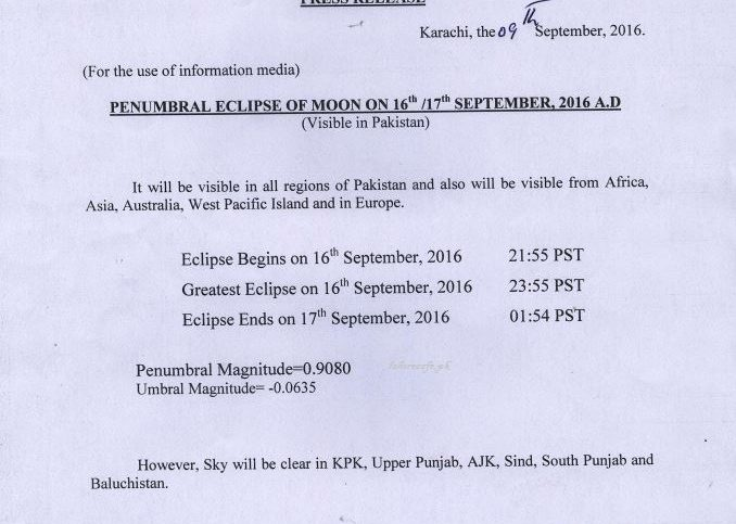 lunar-eclipse-in-pakistan-2016-timing