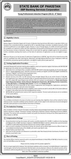 sbp-og2-6th-batch-official-advertisement