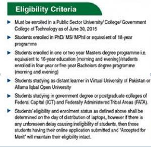 Prime Minister Free Laptop Scheme 2017 Eligibility Criteria For Students