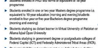 Eligibility Criteria For Students In Notice Form