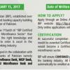 Batch 1 Certified General Banker CGB Program Microfinance Application Form 2017