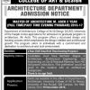 Graduate Program In Architecture In Lahore Eligibility Criteria