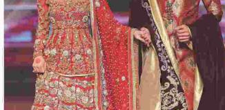 Saba Qamar In Bridal Dress Trend In 2017