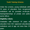 Prime Minister Youth Training Scheme Application Form Download