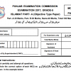 5th Class Islamiat Model Paper PEC Issued Board Sample Papers