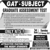 NTS GAT Subject For Phd Admissions Registration Form Download 2017