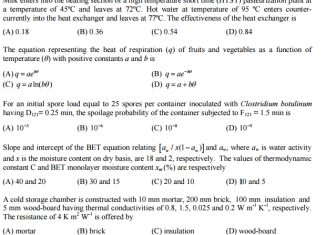 Agricultural Engineer Sample Paper PPSC MCqs