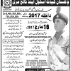 Pakistan Cadet School And College Murree Admissions 2017 3 Class To 9th Download Form
