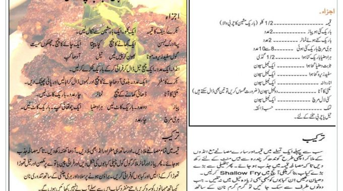 Chapli Kabab Recipe In Urdu Peshawari Chapli Recipe Method Step By Step