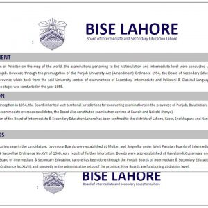 Lahore Board Matric Result 2017 Use BISE Roll No To Get 10th Class Result