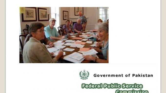 FPSC Senior Auditor Result Written Test 2017 Can Obtain From Here