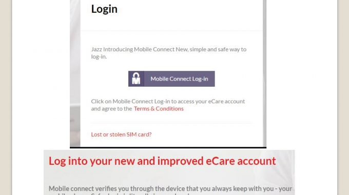 Mobilink Ecare SMS History Check Call Chat From Portal And Application