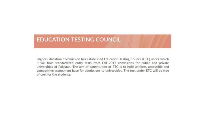 HEC ETC Entry Test Pattern, Syllabus, Sample Paper And Online Preparation Information