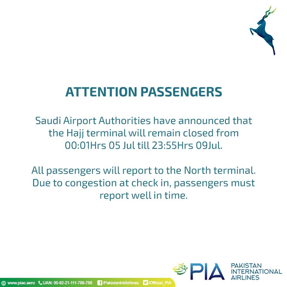 Important announcement for all passengers flying to Saudi Arabia